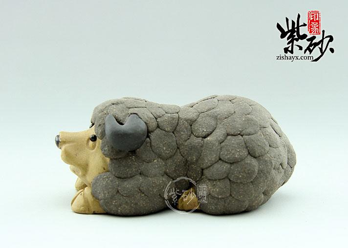 彩泥手工制作羊
