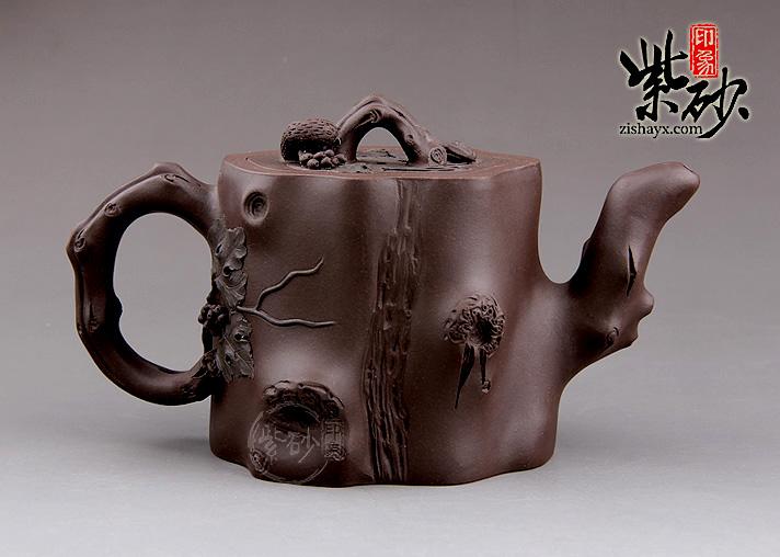 松鼠茶壶简笔画