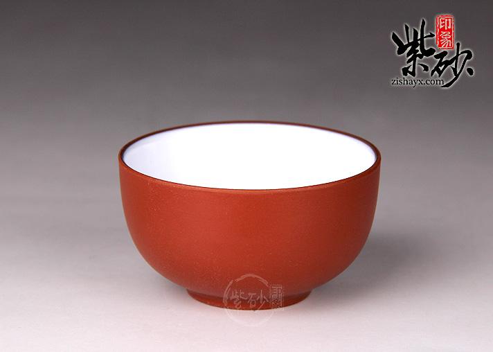紫砂品茗杯(瓷内壁)