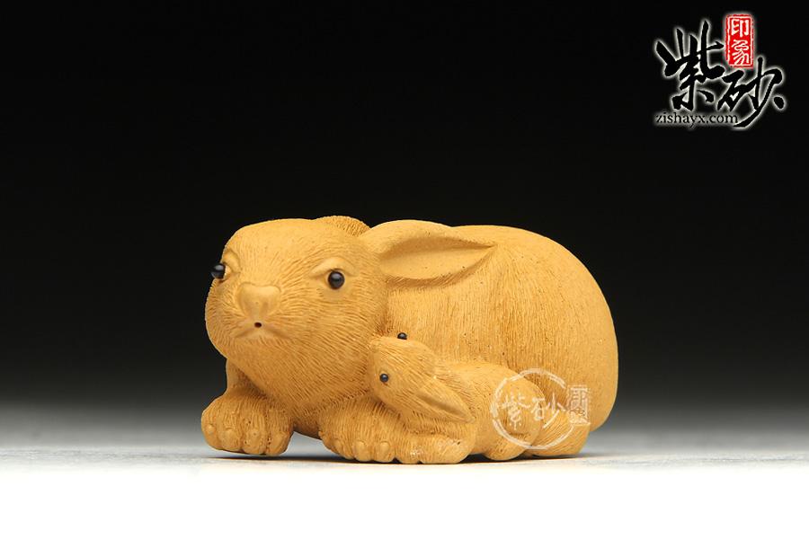 大米粒兔子手工制作